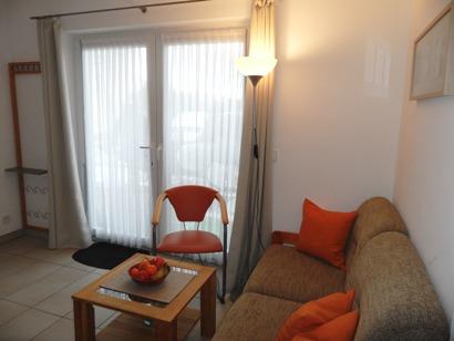 gemütliche Sitzecke im Wohnbereich - Eingang