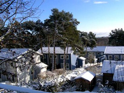 Ferienanlage Schloonsee im Winter