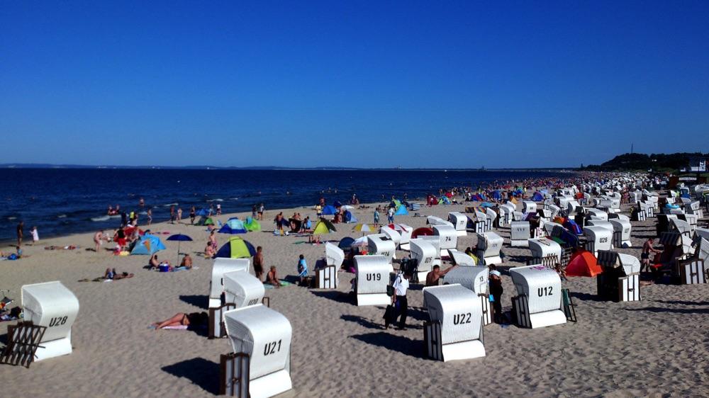 Am Strand Seebad Bansin