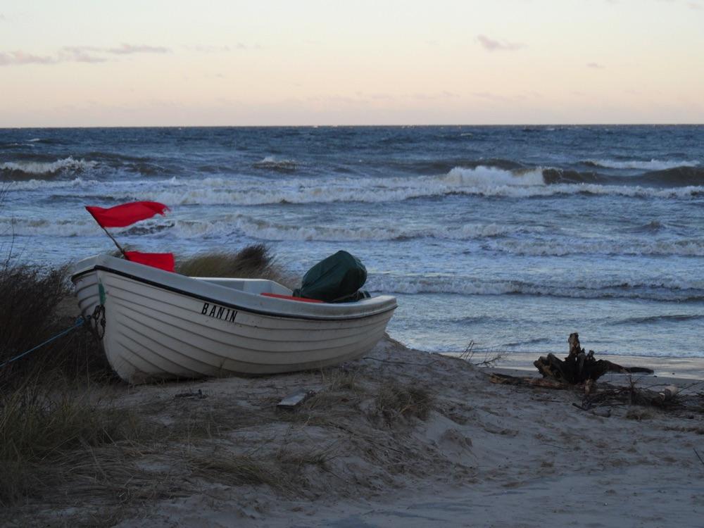 Ein Fischerboot - Seebad Bansin
