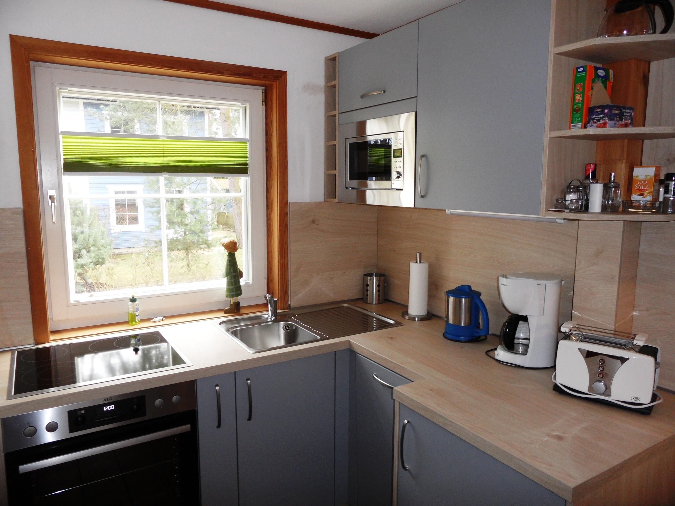neue moderne Einbauküche