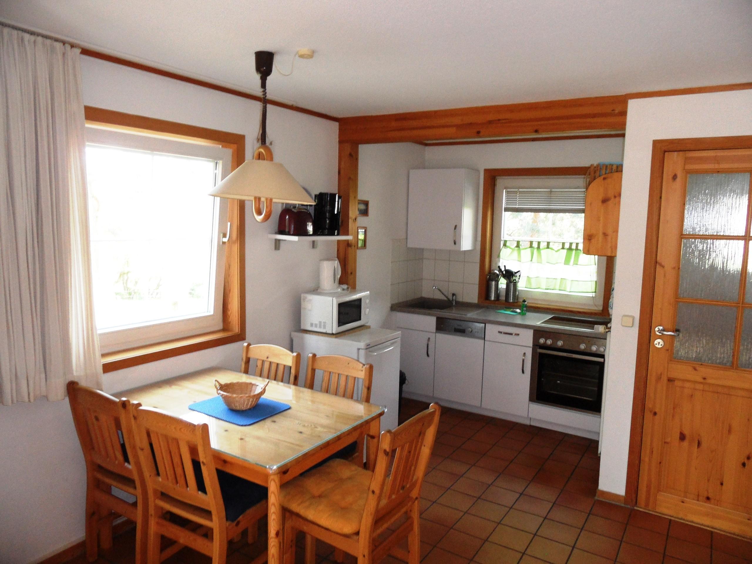 Esszimmer und KücheEsszimmer und Küche