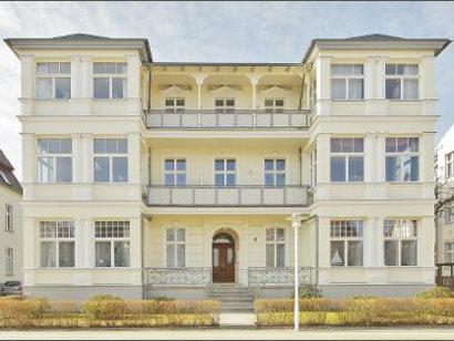 Die Villa Kurfürst von außen