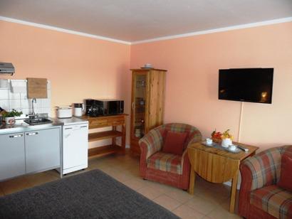Gesamtüberblick Küche/Wohnbereich