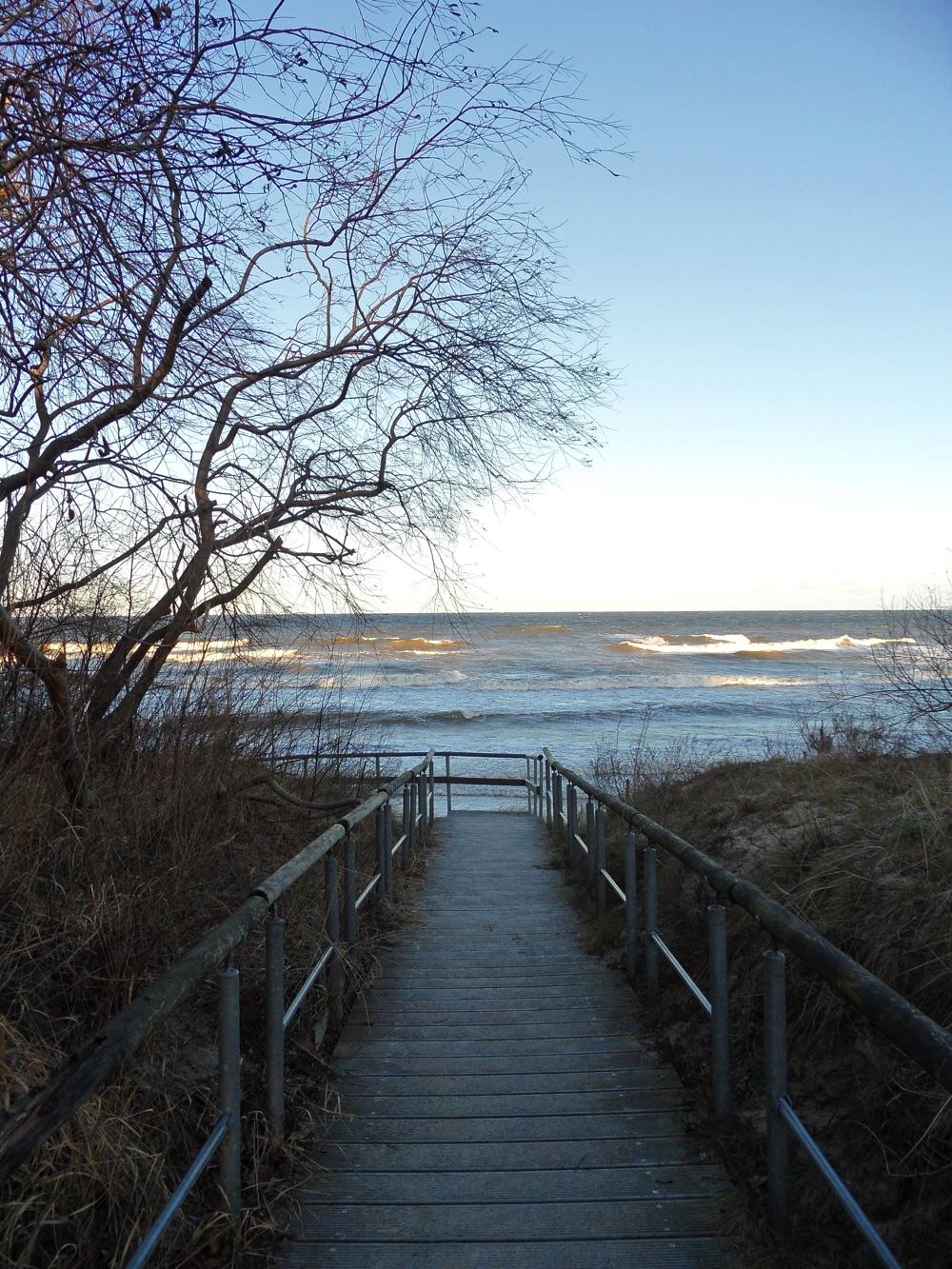 Strandaufgang Seebad Heringsdorf