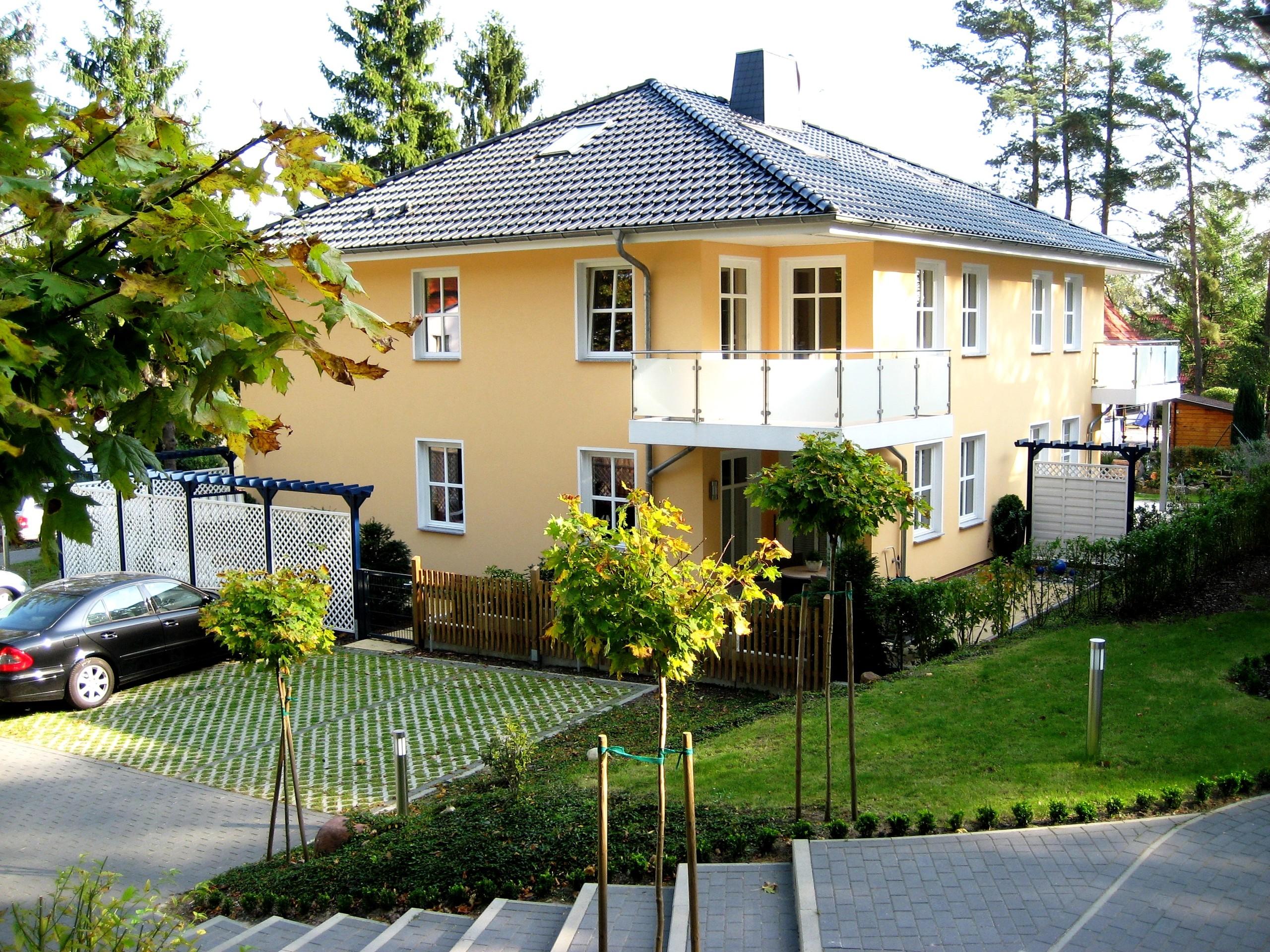 Das Haus Ostseeduo von aussen